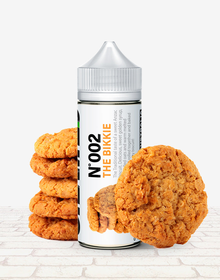 No 002 - The Bikkie - Steam E-Juice | The Steamery