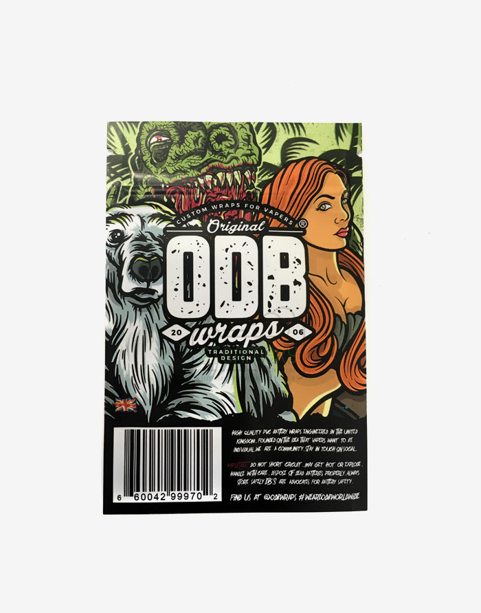ODB Battery Wraps - 18650 - Steam E-Juice | The Steamery