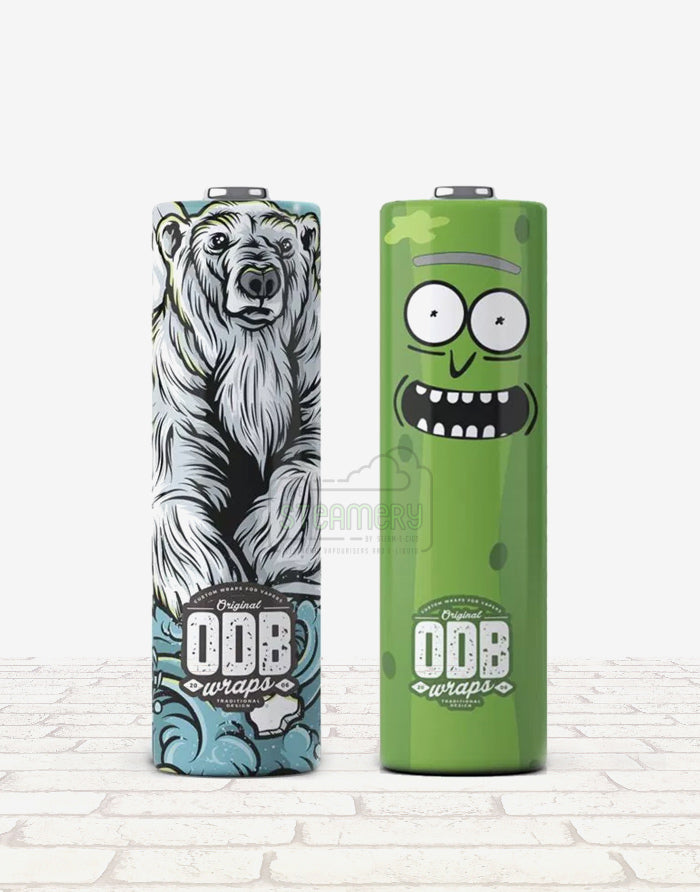 ODB Battery Wraps - 20700 - Steam E-Juice | The Steamery