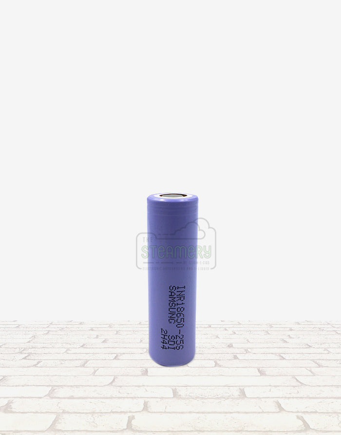 Samsung INR18650-25S - Steam E-Juice | The Steamery