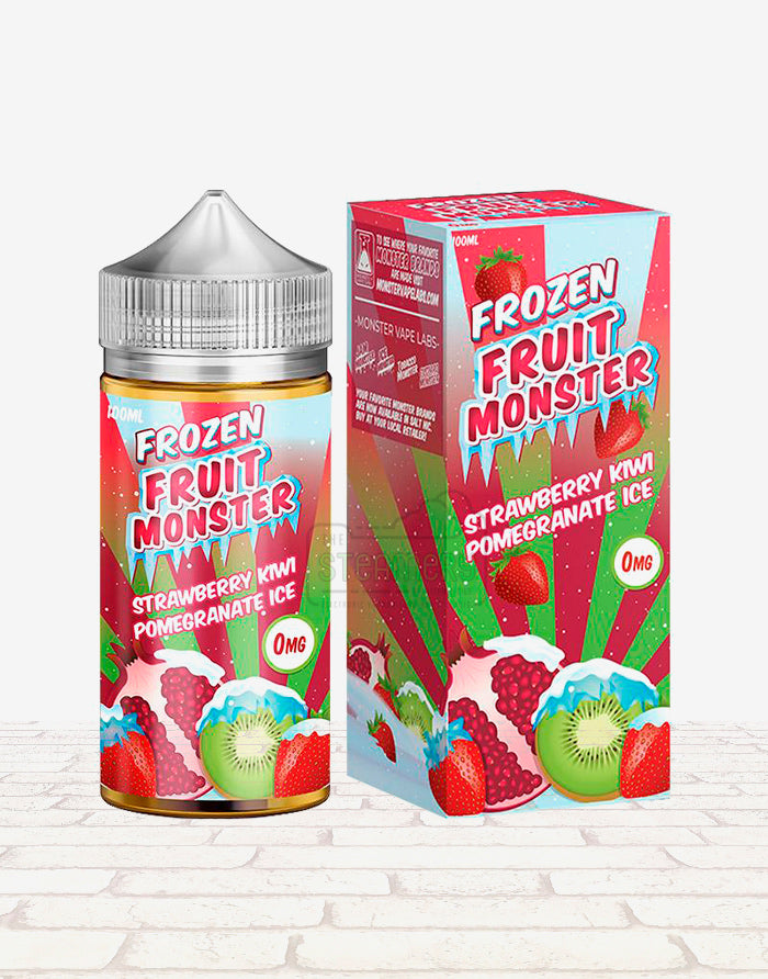 Strawberry Kiwi Pomegranate Ice - Steam E-Juice | The Steamery