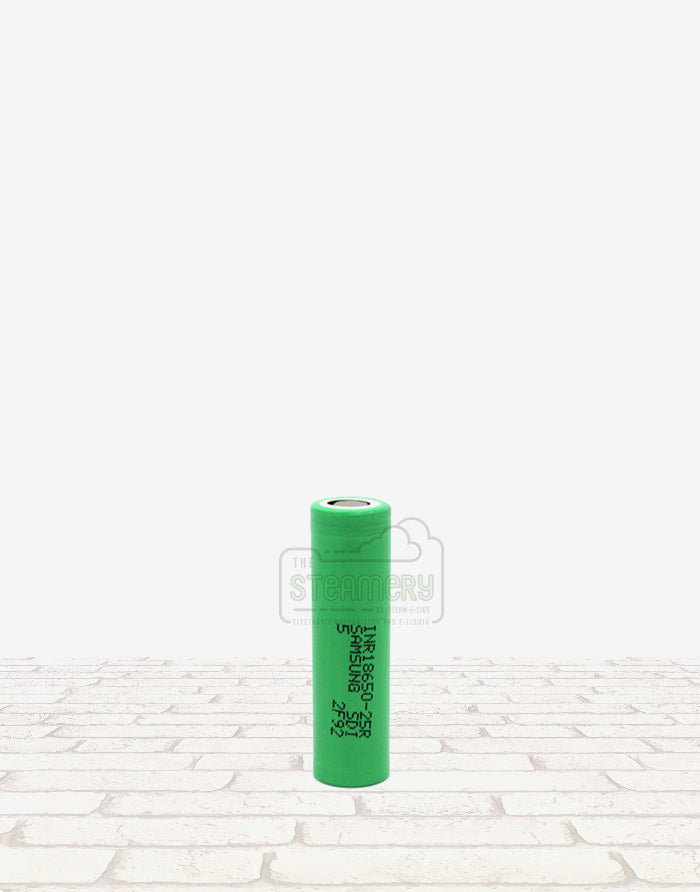 Samsung INR18650-25R - Steam E-Juice | The Steamery