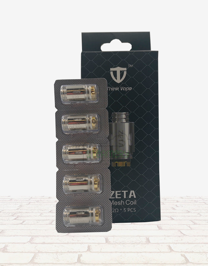 Think Vape ZETA Replacement Coil 5pcs - Steam E-Juice | The Steamery
