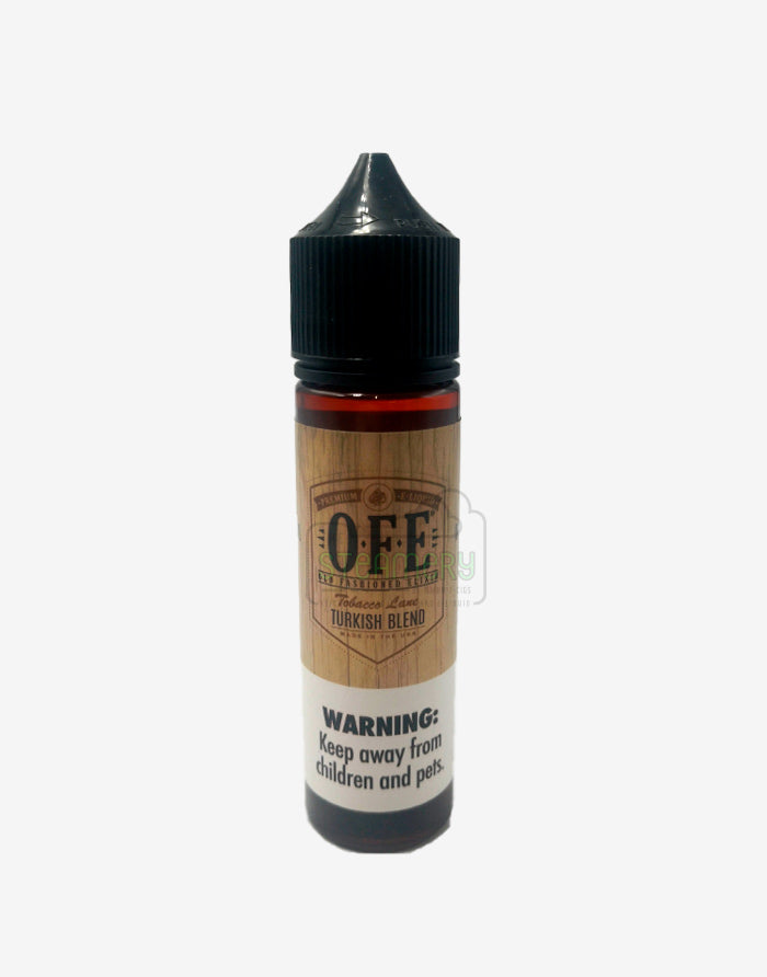 Turkish Blend - Old Fashioned Elixir 60ml - Steam E-Juice | The Steamery