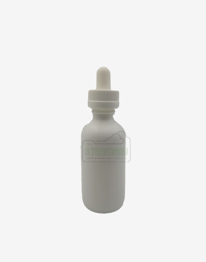 60ml Premium white dropper bottle - Steam E-Juice | The Steamery