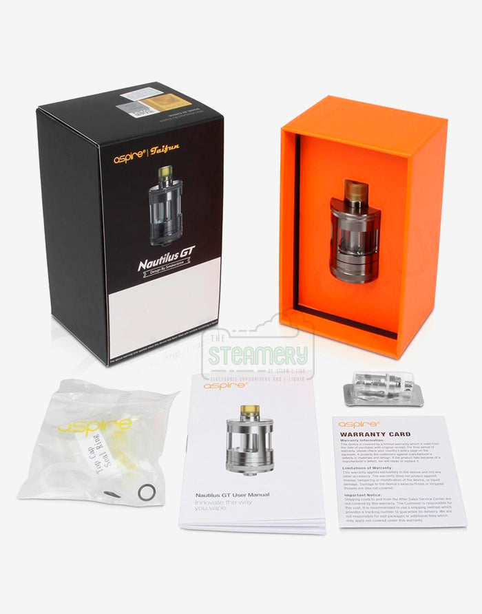 Aspire X Taifun Nautilus GT Tank, 3ml - Steam E-Juice | The Steamery