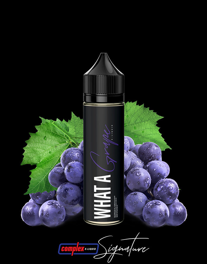 Signature - What A Grape - Steam E-Juice | The Steamery