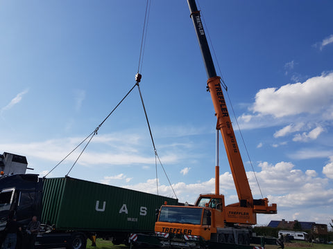Container Pick Up Germany