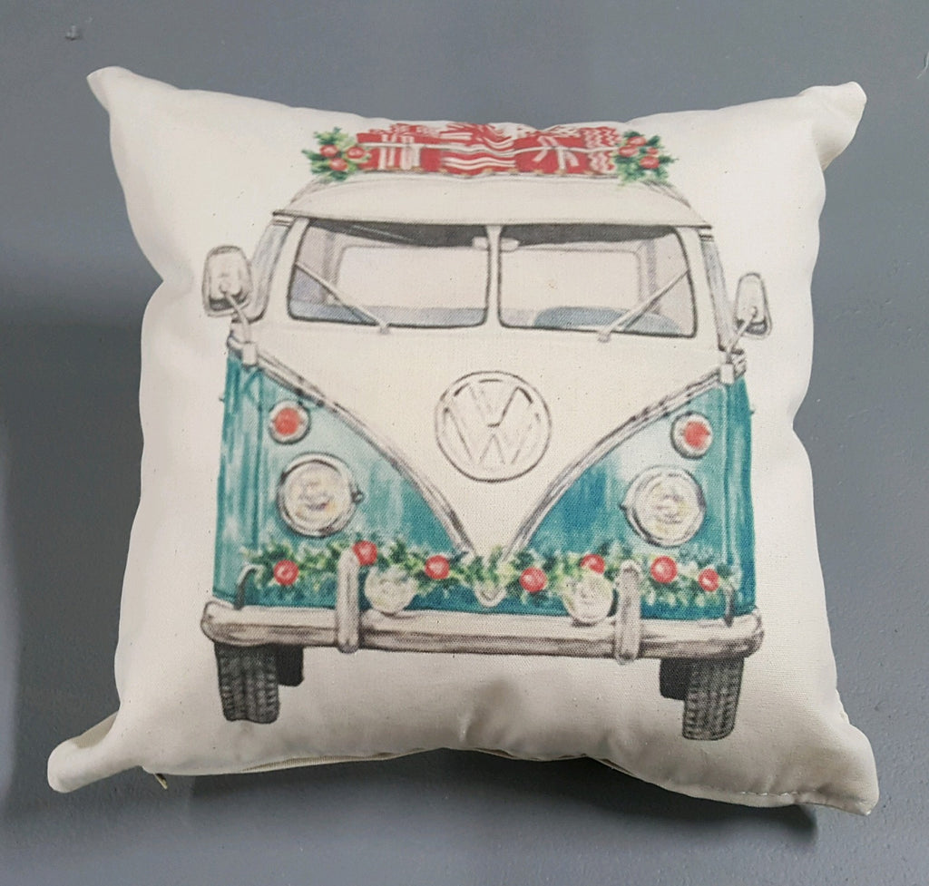 Christmas Car Pillow Covers fourth edition