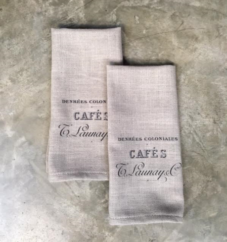 Cafe towels - set- select from 6 images