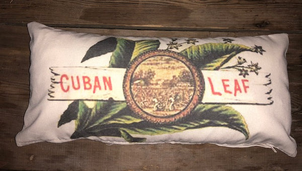 Vintage cigar label pillow covers - select from 4