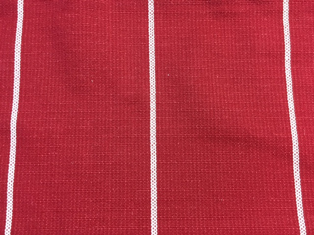 custom long drop - red collection select fabric