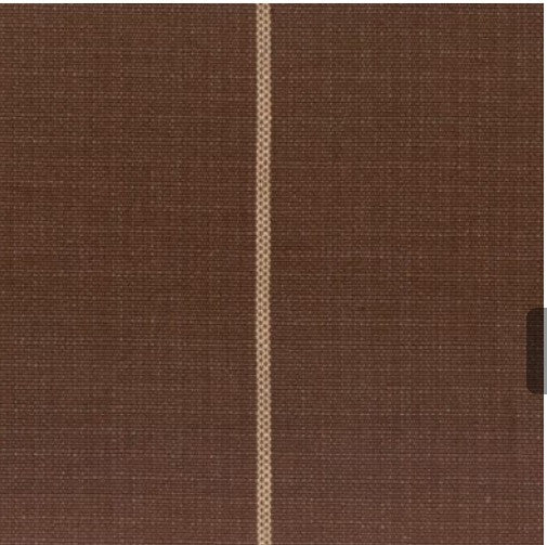 custom standard sham -brown collection select fabric