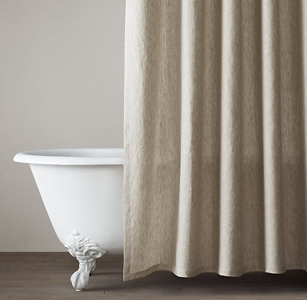 Shower Curtain- Natural Linen