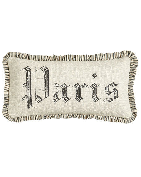Pillow cover 10x20- Paris