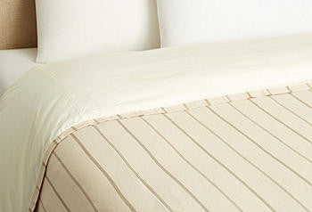Coverlet-neutral stripe
