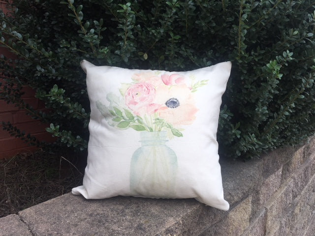 Spring Flower pillow cover collection - select from 3