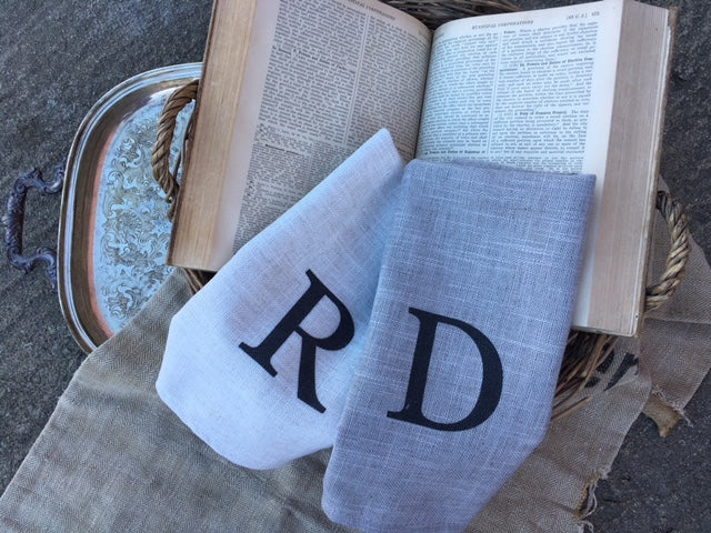 Monogram Cafe Towel