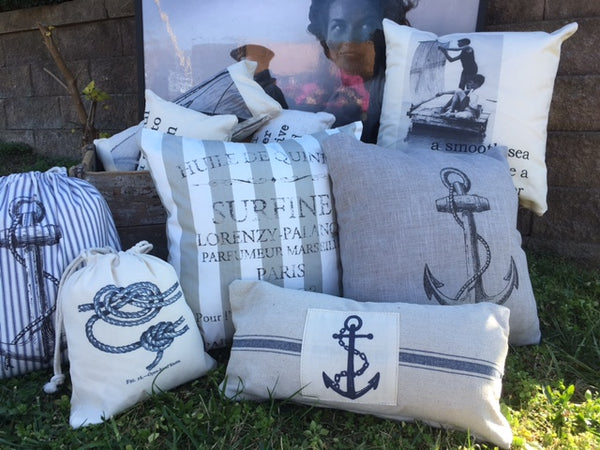 Nautical Pillow covers - Group 1 select from 7  pillow covers