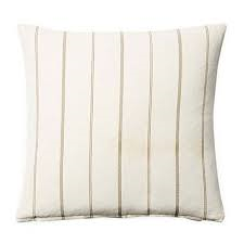 pillow cover - neutral stripe
