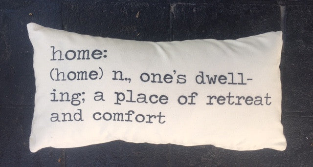Home Quote Pillow