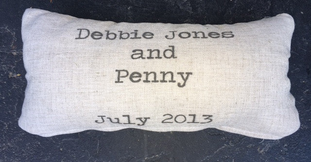 Custom Pet Pillow covers - select from 2 sizes