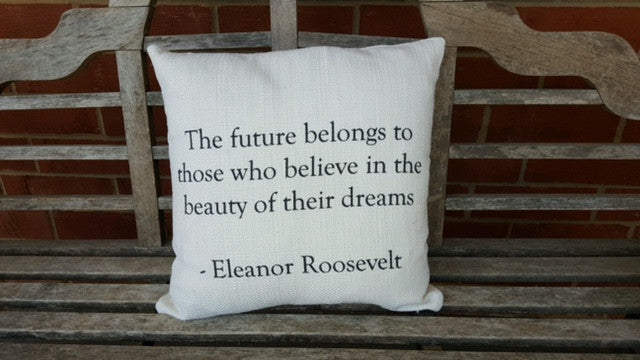 Positive Word pillow covers - the winners