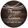 Country Lights Wedding Favors