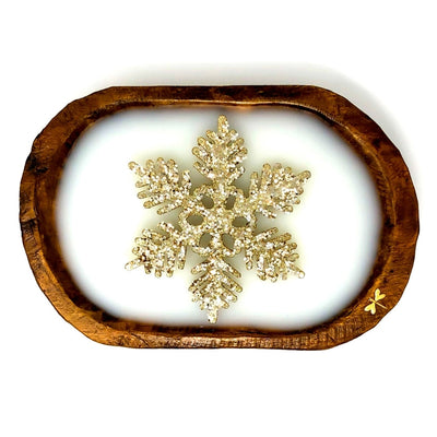 Snowflake Dough Bowl