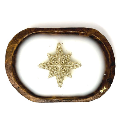 Dough Bowl Candle Star