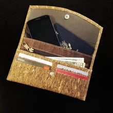 Cork Leather Clutch Wallet