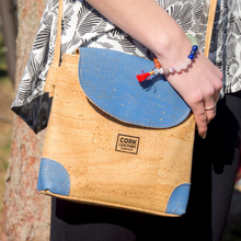 Cork Leather Crossbody Bag