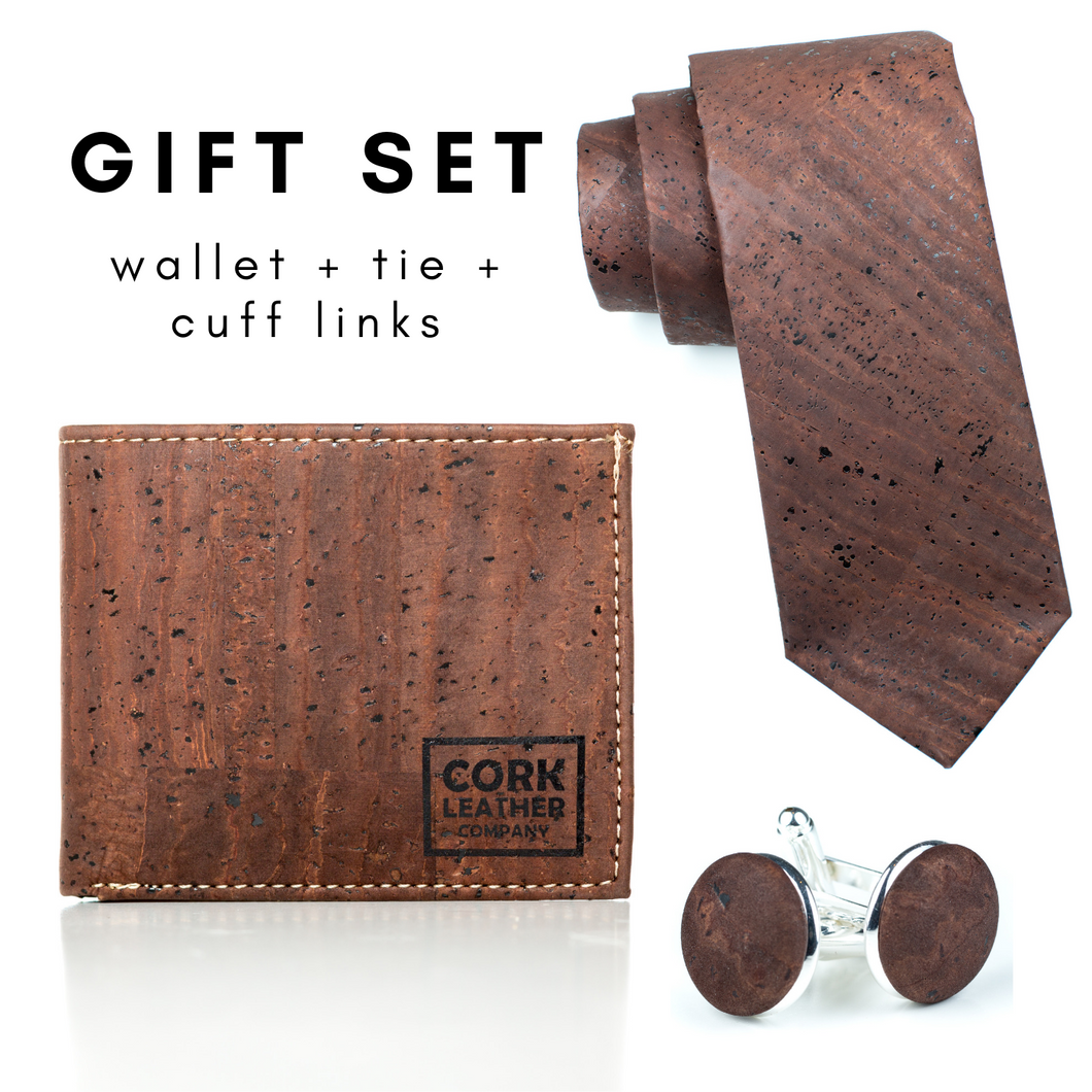 Wallet + Tie + Cuff Links