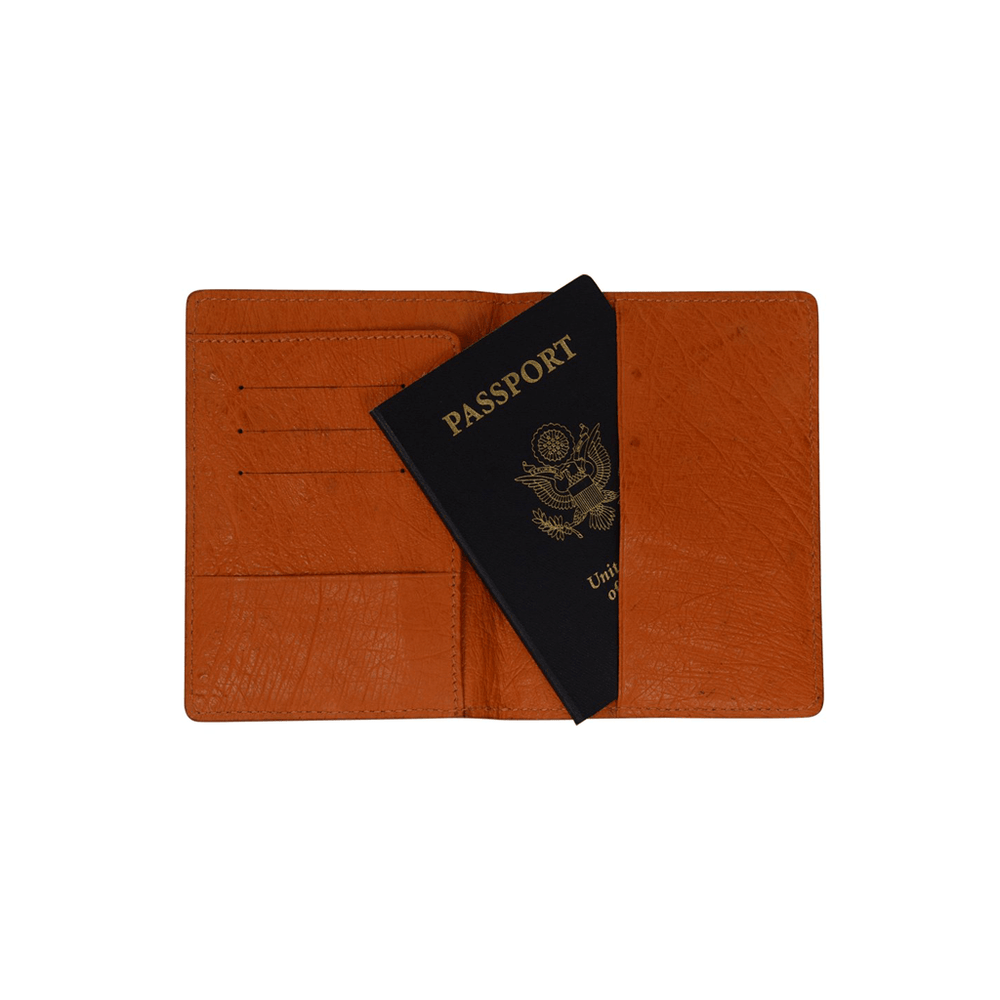 4010 Ostrich Passport Holder