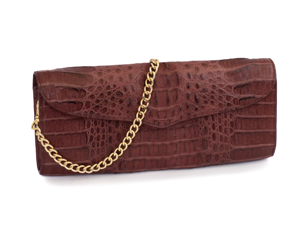 Load image into Gallery viewer, 3307 Crocodile Clutch