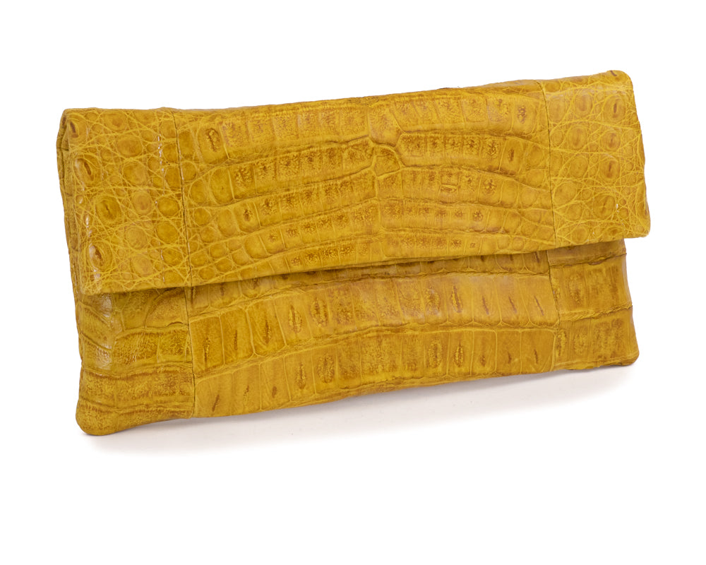 3311 Crocodile Belly Clutch