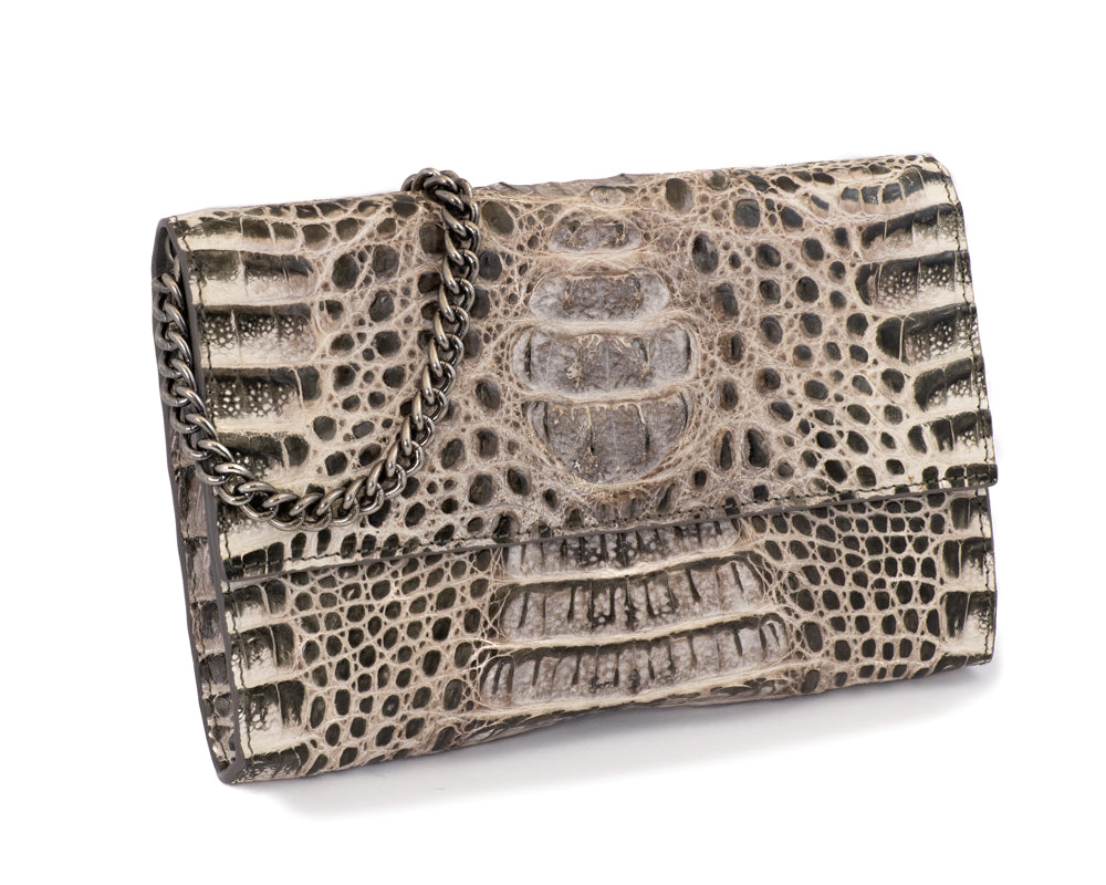 Load image into Gallery viewer, 3312 Crocodile Clutch
