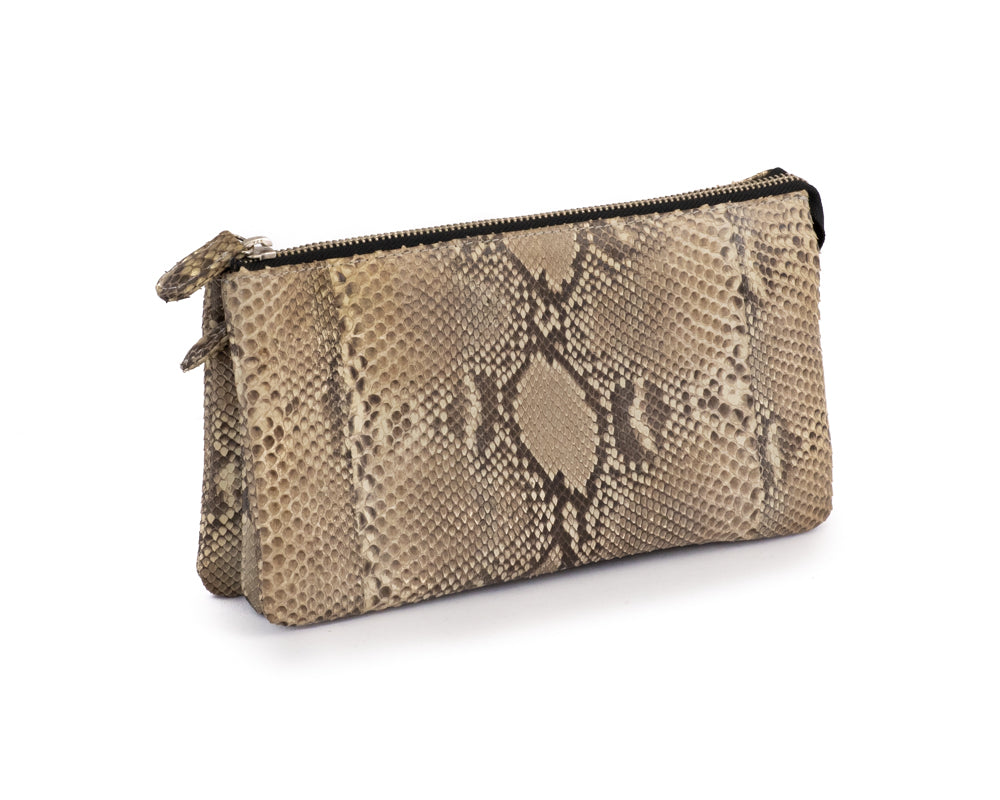 Load image into Gallery viewer, 2901 Python Cosmetic Bag