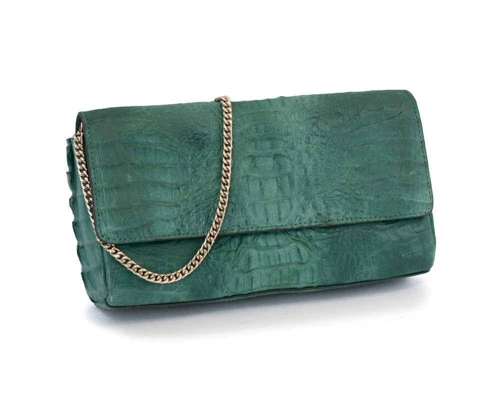 3301 Crocodile Clutch