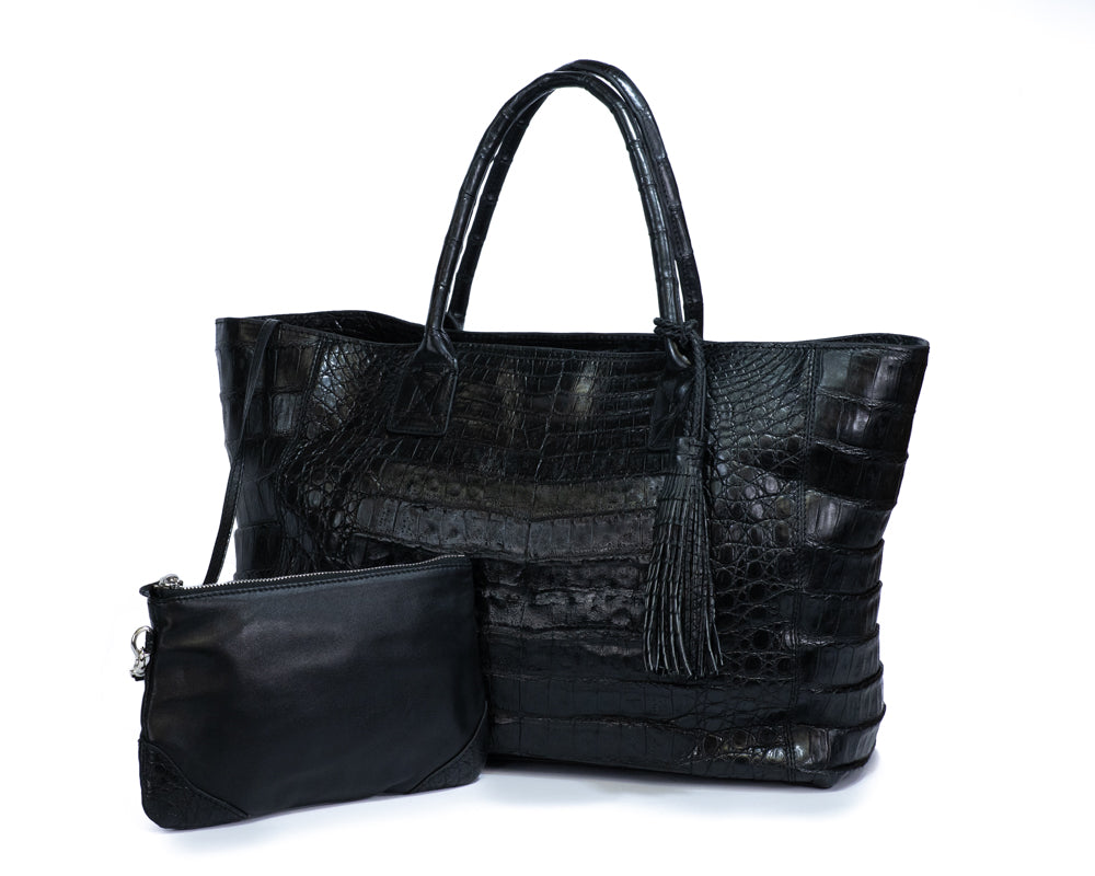 3602 Crocodile Belly Tote