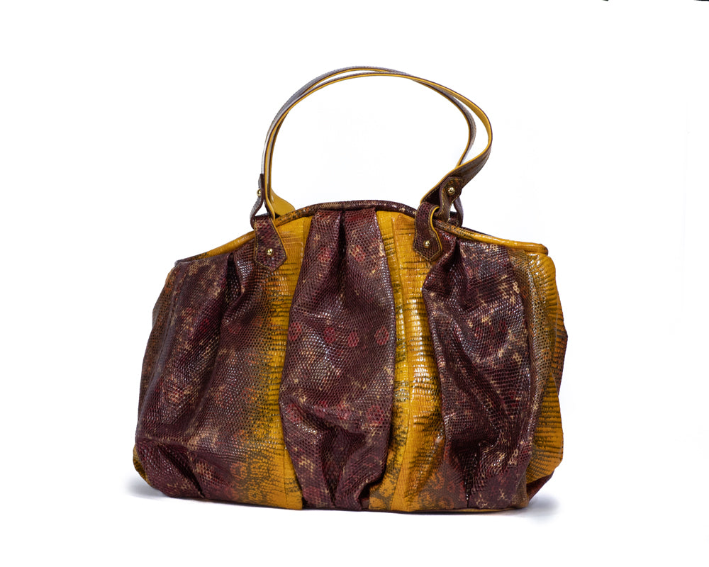 1802 Lizard Shoulder Bag
