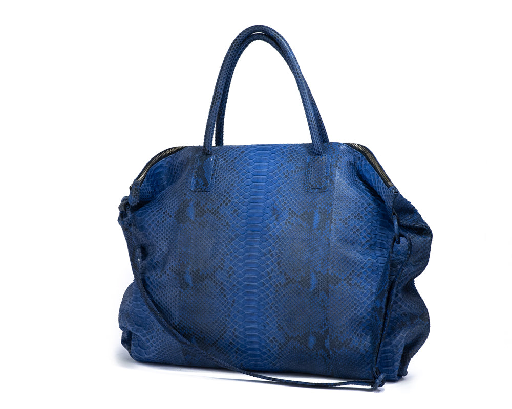 Load image into Gallery viewer, 2819 Python Shoulder Bag