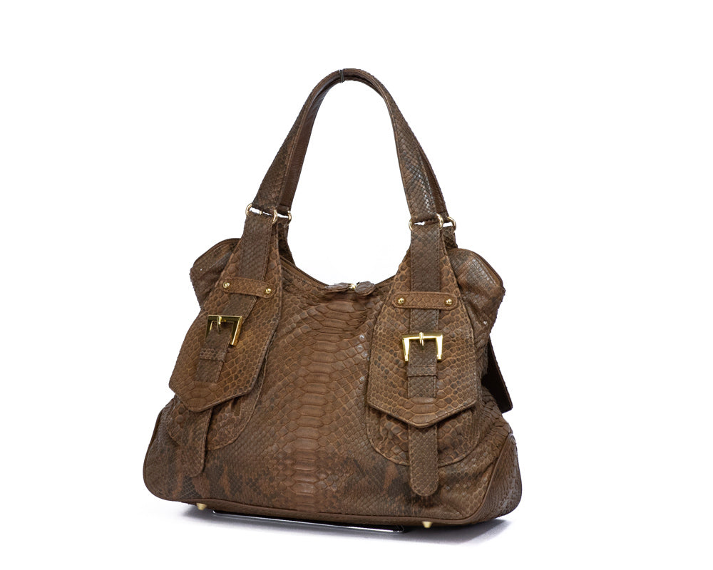 Load image into Gallery viewer, 2405 Python Handbag