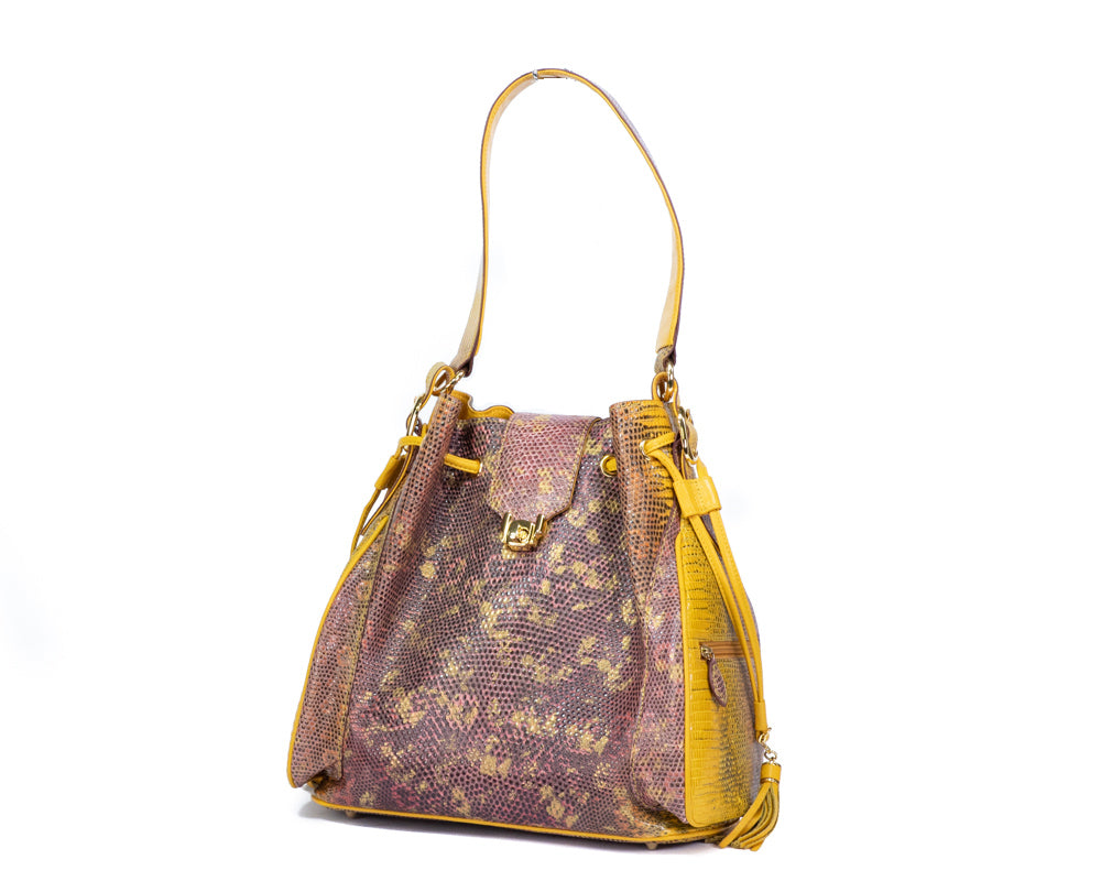 1800 Lizard Shoulder Bag