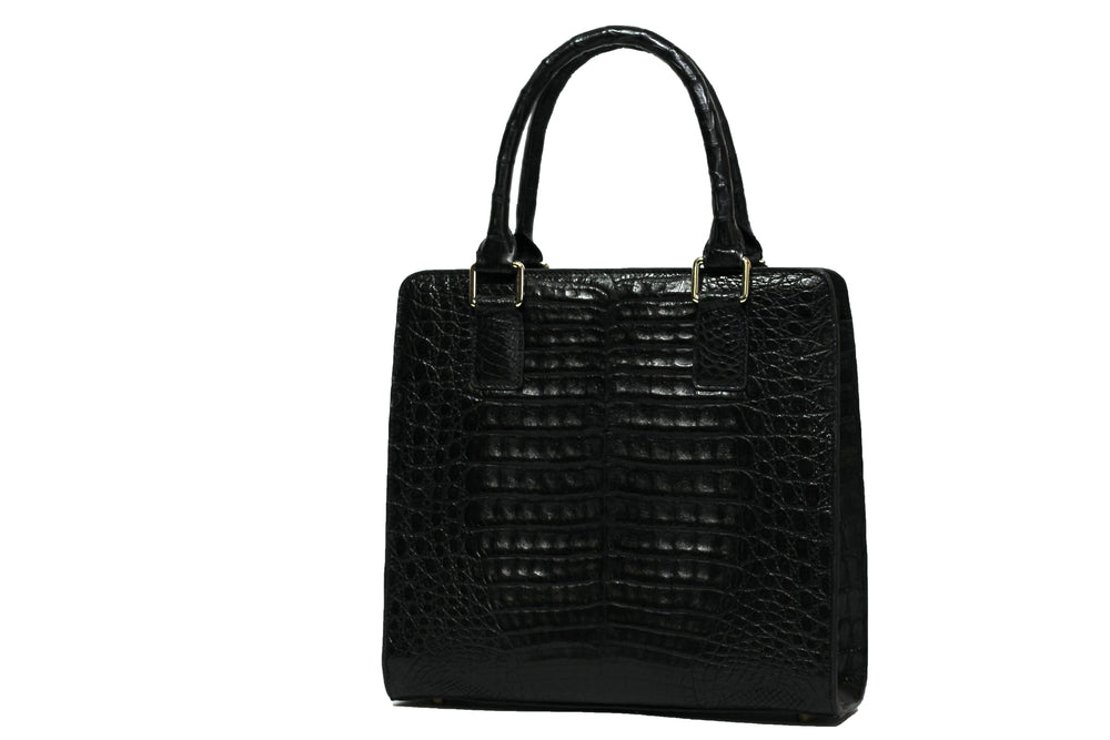 3403 Crocodile Belly Handbag