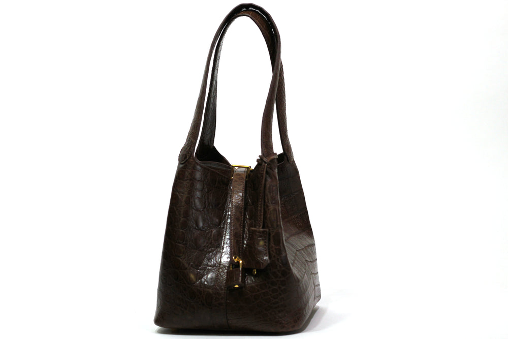 3600 Crocodile Belly Tote