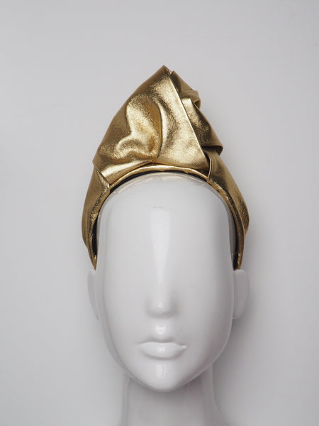 Belle - Leather Turban
