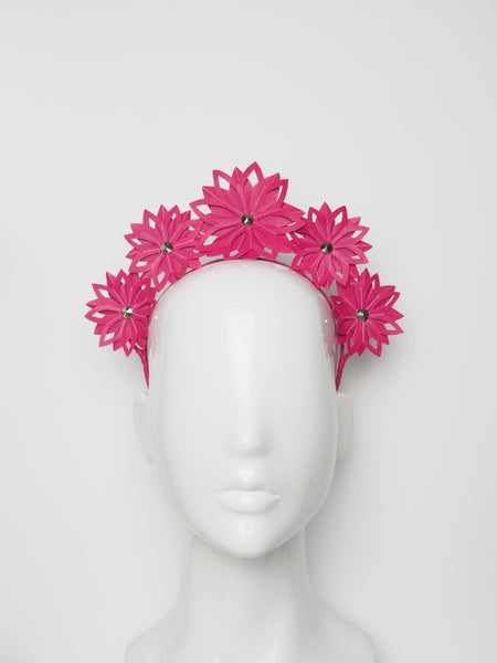 Tessa - Leather Headband Assorted colours