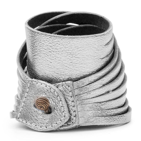 VAQUERA CUFF in Anthracite Monte Carlo leather