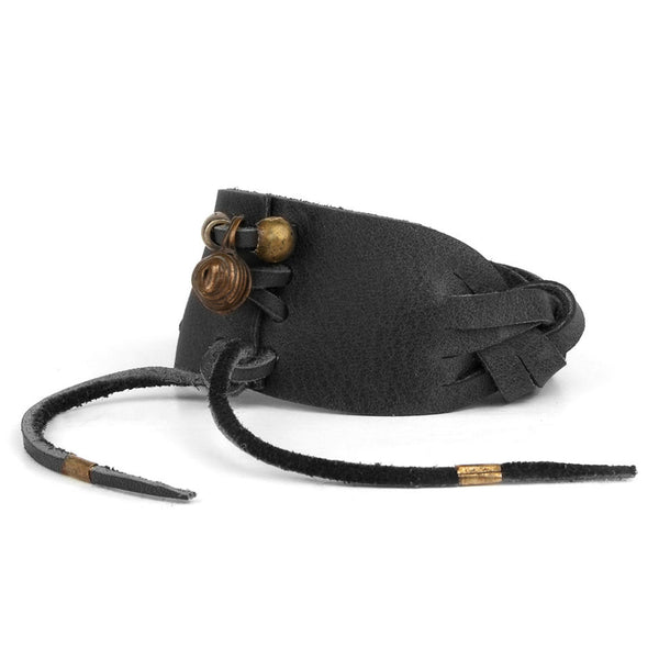 MADRILEÑA CUFF in Black Bridle Leather